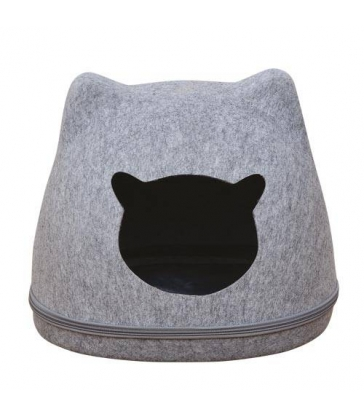 Corbeille Cat Head en feutrine