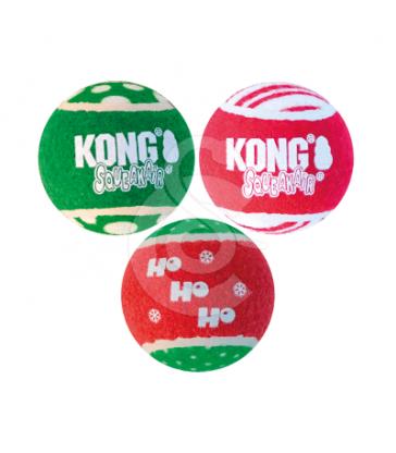 Kong Holiday SqueakAir Tennis Ball