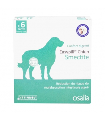EASYPILL SMECTITE CHIEN 6X28 G