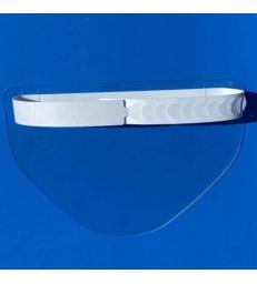 Visière de protection ajustable PVC