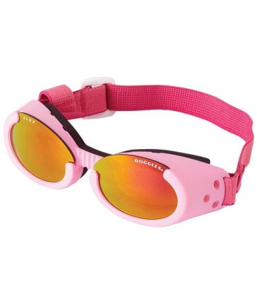Lunettes solaires Doggles rose