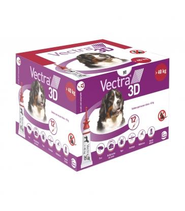 VECTRA 3D SUP40KG x 12 PIPETTES