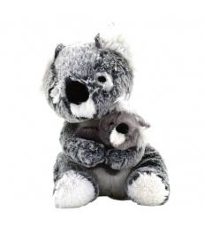 Peluche Koala et son bébé 23 cm