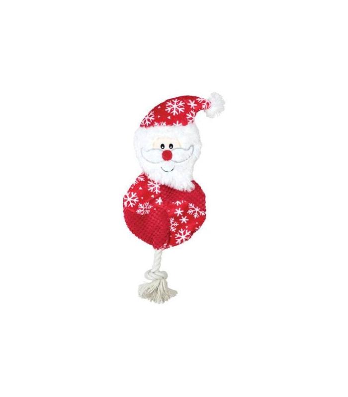 Peluche galette père Noël 40 cm
