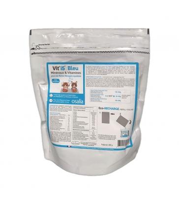Vit'i5 Bleu Minéraux & Vitamines - Sachet Eco recharge de 600g