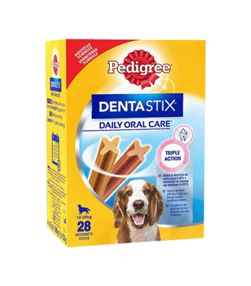 Dentastix chien moyen - Boîte de 28 sticks