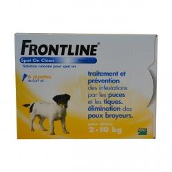 FRONTLINE CHIEN 2-10 KG