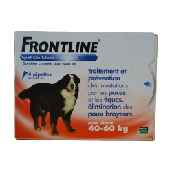 FRONTLINE SPOT-ON CHIEN XL -