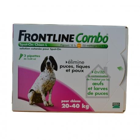 FRONTLINE COMBO CHIEN L 20
