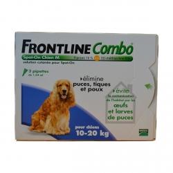 FRONTLINE COMBO CHIEN M 10