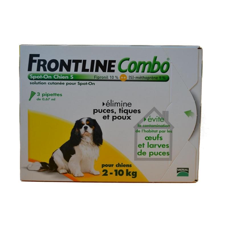FRONTLINE COMBO CHIEN S 2