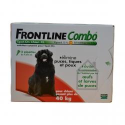 FRONTLINE COMBO CHIEN XL 40