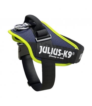 HARNAIS JULIUS IDC POWER BLEU JEAN BORDS FLUO Taille 1