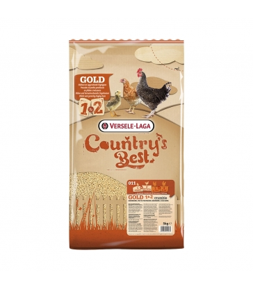 VERSELE-LAGA - COUNTRY BEST GOLD 1&2 Crumble - Sac de 5kg