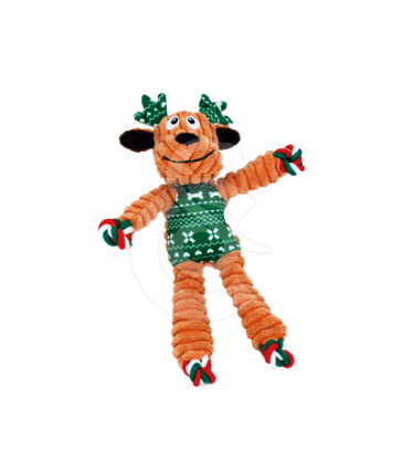 Kong Holiday Floppy Knots Reindeer