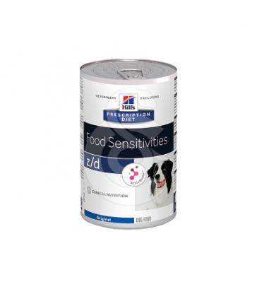 Canine Z/D Food Sensitivities Activ Biome+ Boîte