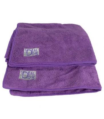 Serviettes Microfibre violettes IdealDog