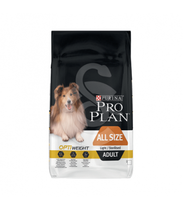 Dog All Size Adult Light /Sterilised Chicken Optiweight