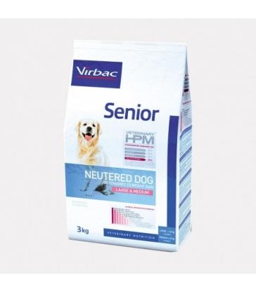 VIRBAC VET HPM CHIEN Senior Neutered Large & Medium - Sac de 12Kg