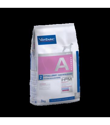 VIRBAC VET HPM CHIEN A2 Hypoallergy au Saumon - Sac de 3 kg