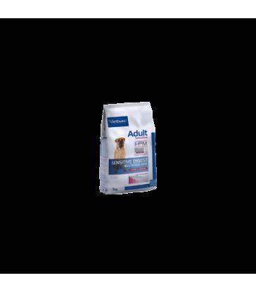 VIRBAC VET HPM CHIEN Adult Neutered Sensitive Digest Large & Medium Sac de 12 kg