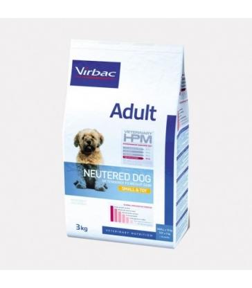 VIRBAC VET HPM CHIEN Adult Neutered Small & Toy - Sac de 7Kg