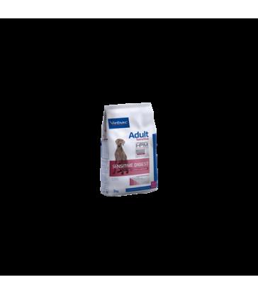 VIRBAC VET HPM CHIEN Adult Sensitive Digest Large & Medium Sac de 12 kg