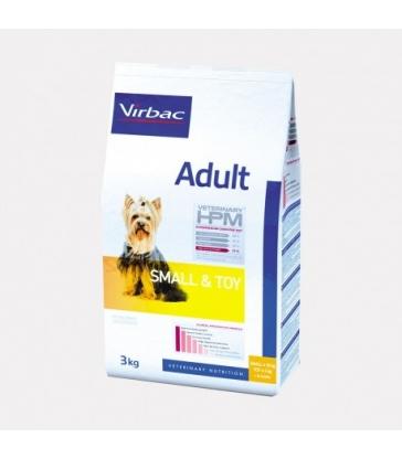 VIRBAC VET HPM CHIEN Adult Small & Toy Sac de 1.5 kg