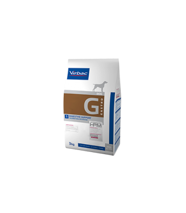 VIRBAC VET HPM CHIEN G1 Digestive Support Sac de 12 kg