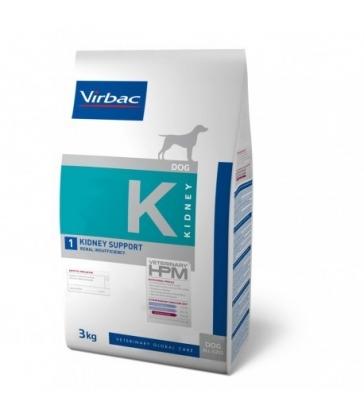 VIRBAC VET HPM CHIEN K1 Kidney Support Sac de 3 kg
