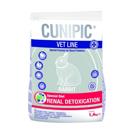 CUNIPIC VET LINE RABBIT RENAL DETOXIFICATION - Sac de 1,4kg