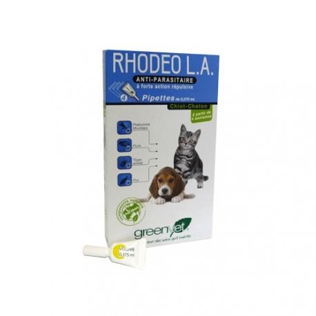 RHODEO L.A CHIOT/CHATON - Boîte de 4 pipettes