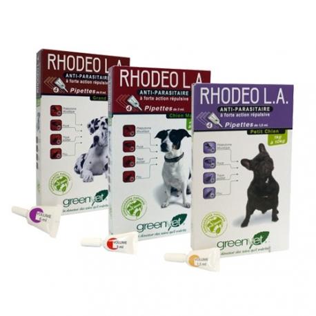 RHODEO L.A PETIT CHIEN - Boîte de 4 pipettes