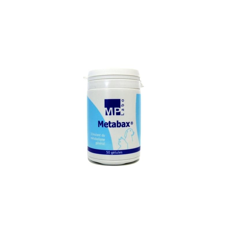 Metabax - Boîte de 50 gélules