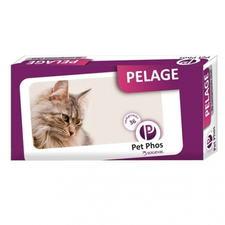 PET PHOS Pelage Chat