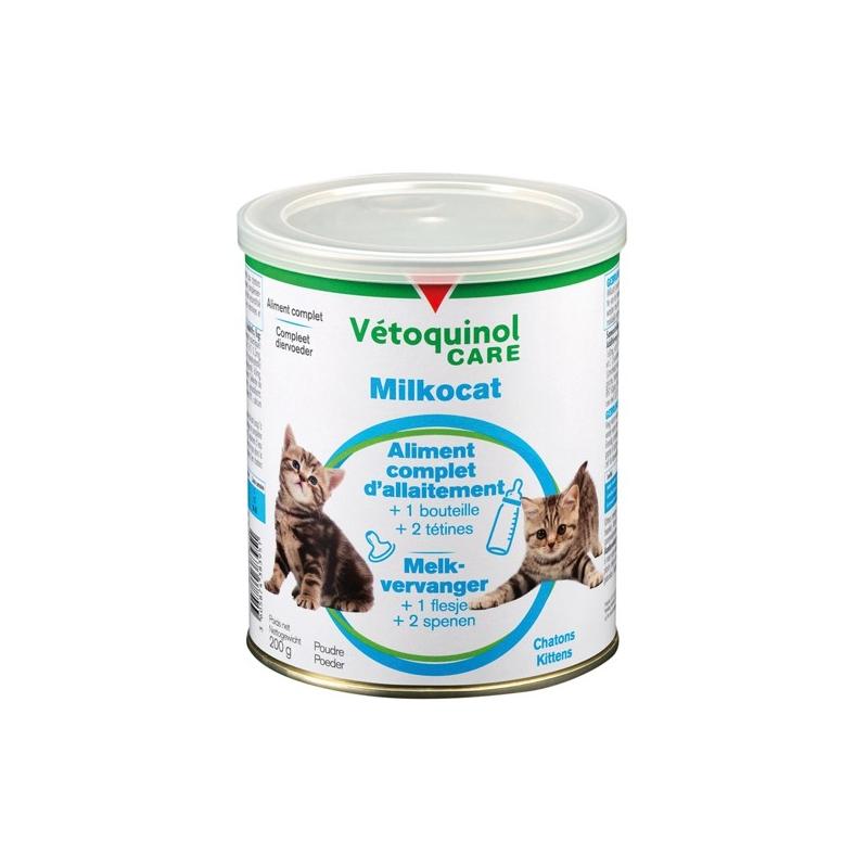 VETOQUINOL CARE Milkocat - Boite de 200g