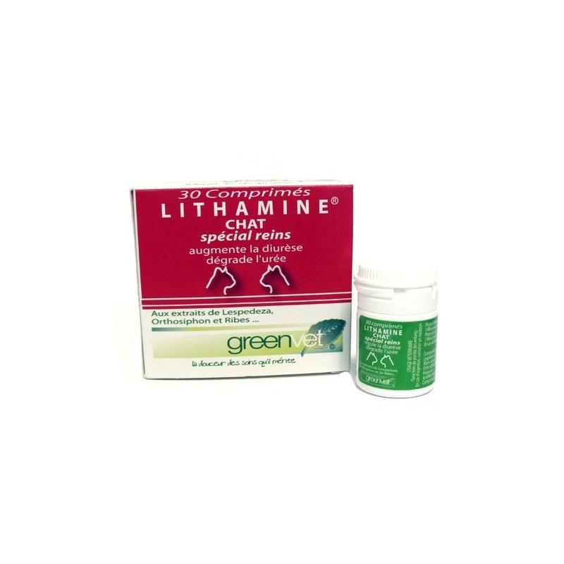 Lithamine Chat - Boite de 30 comprimés