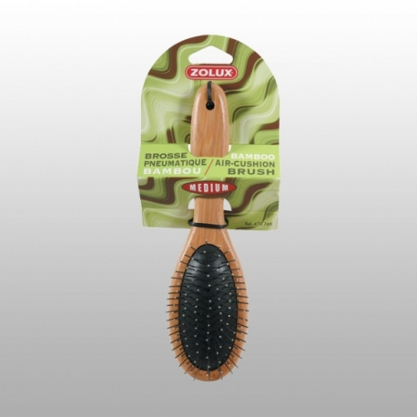 BROSSE DOUBLE PICOTS SANGLIER BAMBOU