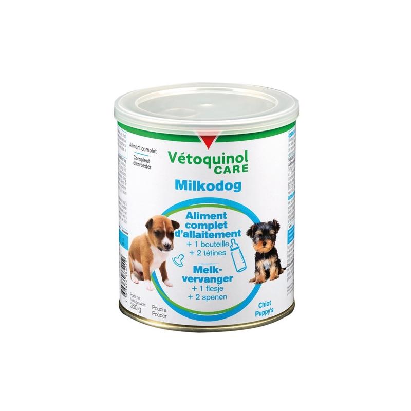 VETOQUINOL CARE Milkodog - Boite de 350g