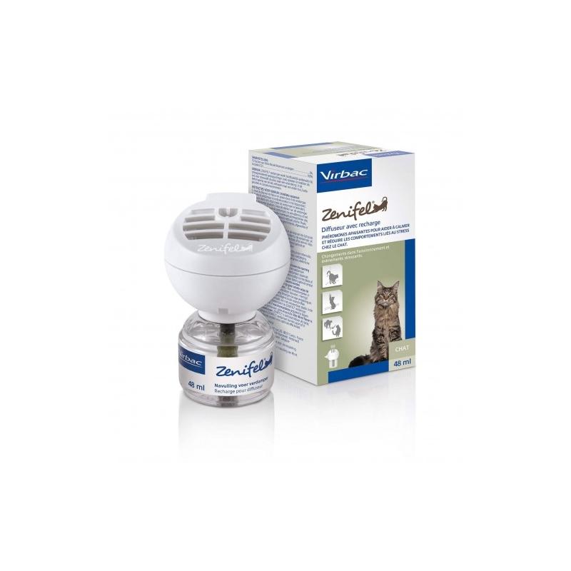 Zenifel recharge et prise diffuseur - Flacon de 48ml