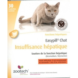 EASYPILL CT INSUF.HEPATIQUE 30X2 GR