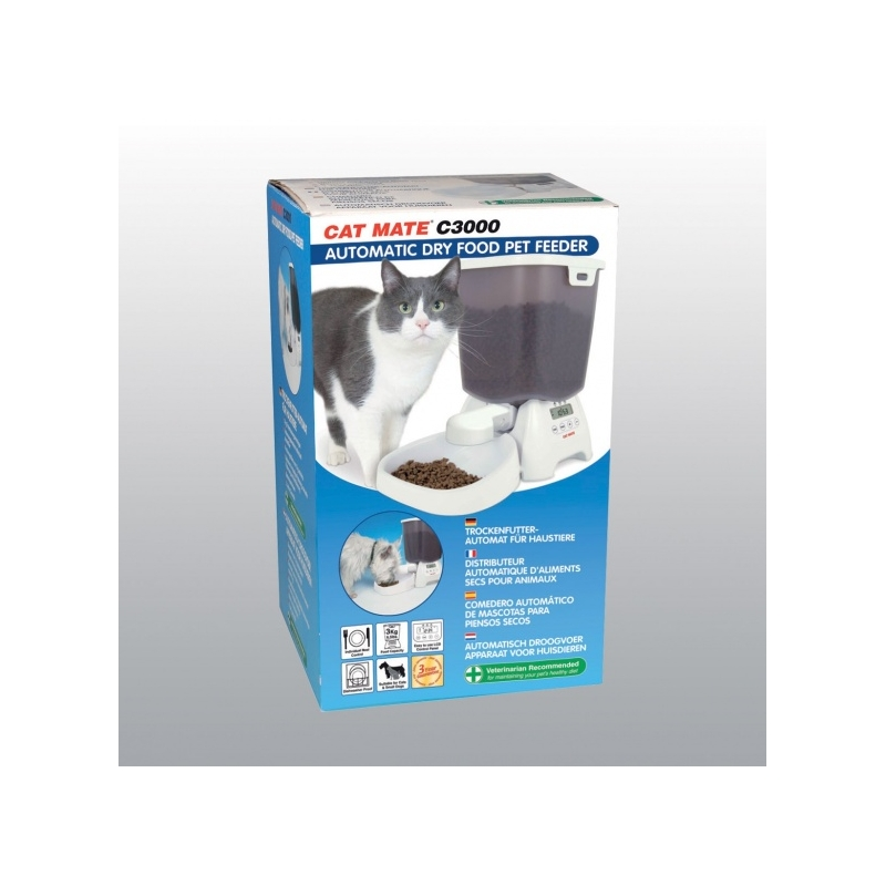 DISTRIBUTEUR AUTOMATIQUE DE NOURRITURE CAT MATE
