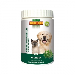 Herbes naturelles pour chien et chat Biofood