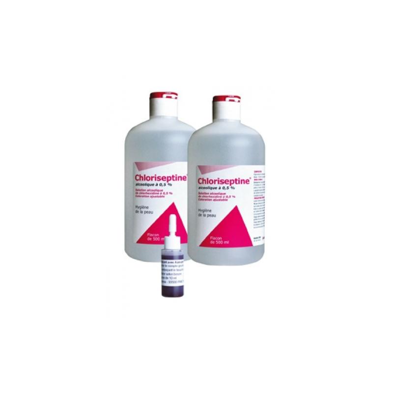 CHLORISEPTINE ALCOOL.0.5% 2X500 ML
